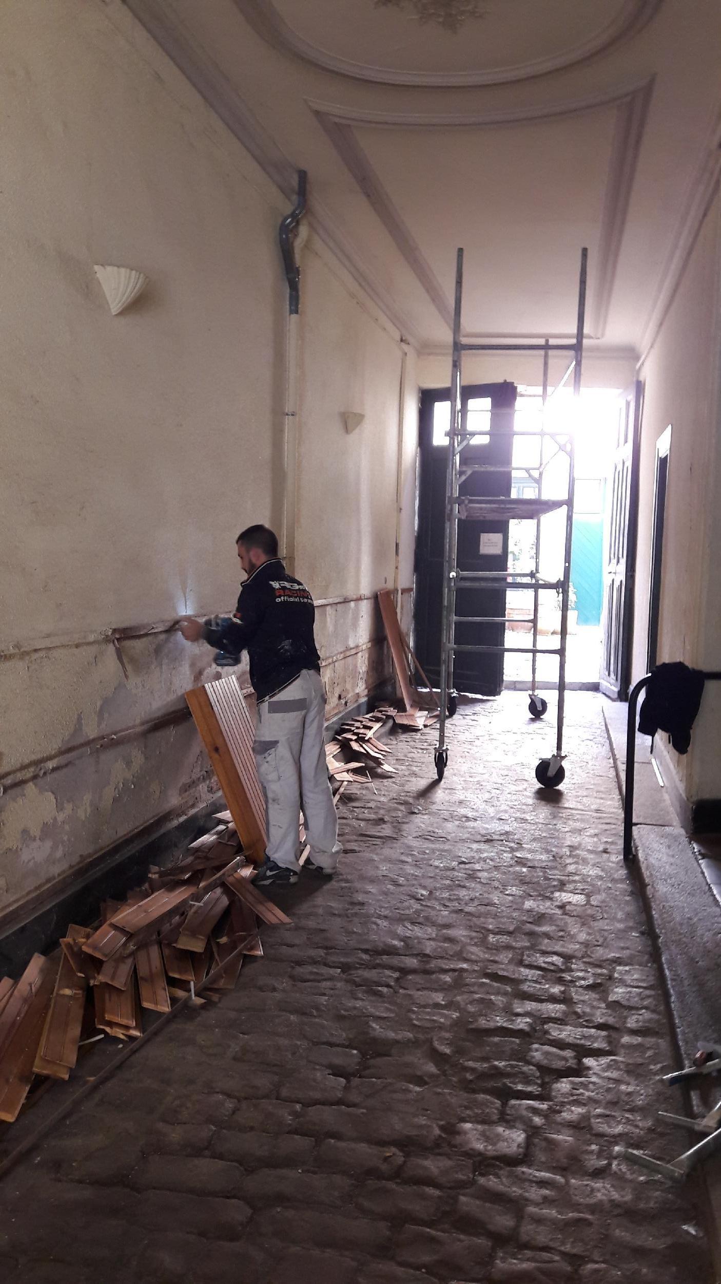 SP Pays chantier renovation le puy en velay